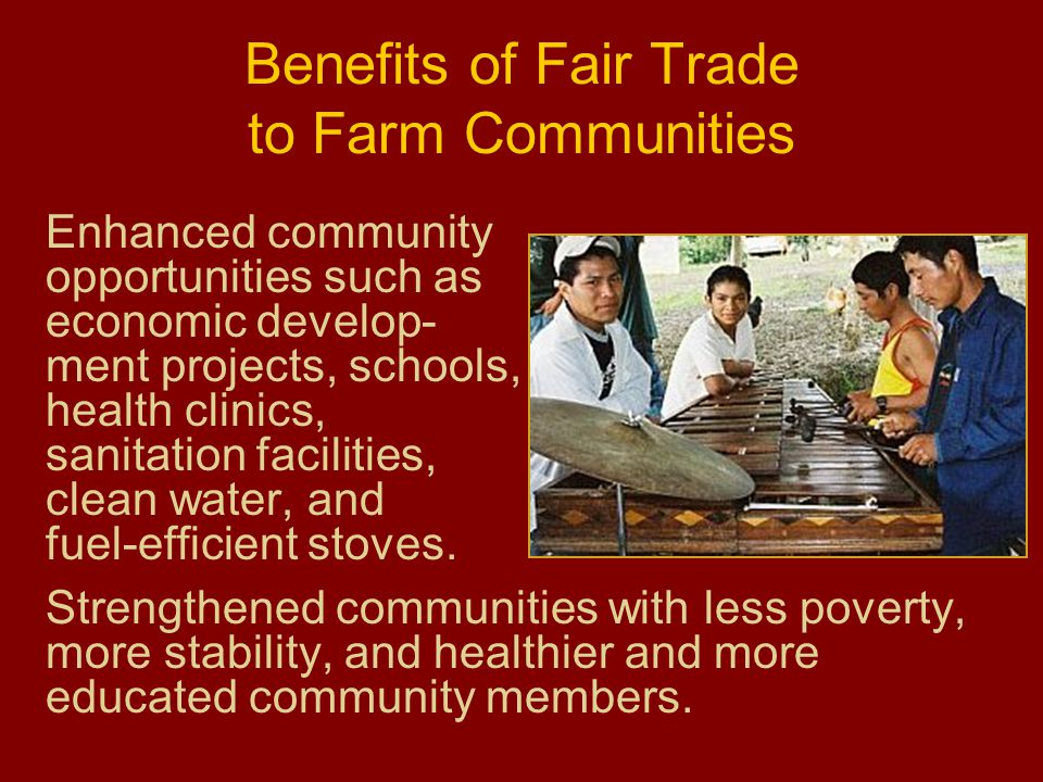fair trade advantages to employees Sunday and public holiday penalty rates will be reduced for hospitality, retail workers, fair  employees earn just enough to  be reduced for.