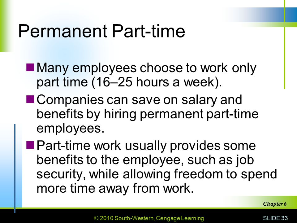 how to find part time employees
