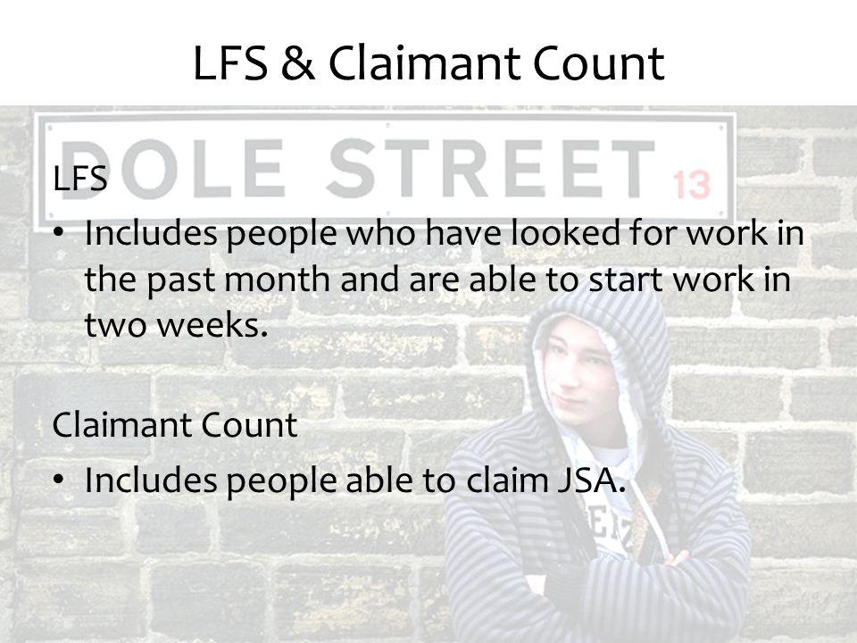LFS & Claimant Count LFS