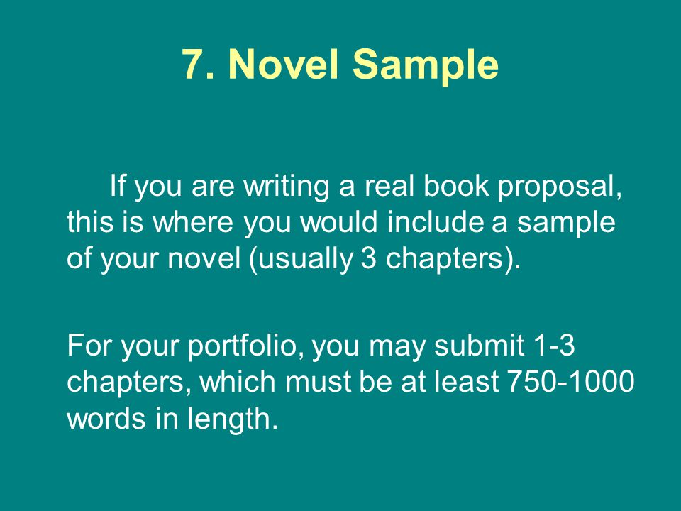 How To Write A Proposal For A Novel - Ppt Download