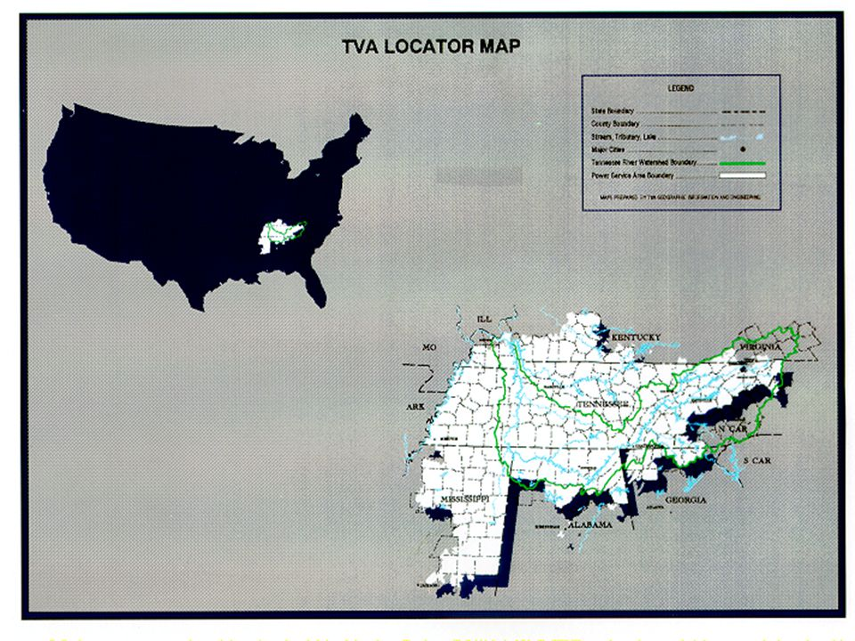 Tennessee Valley Authority  ppt download
