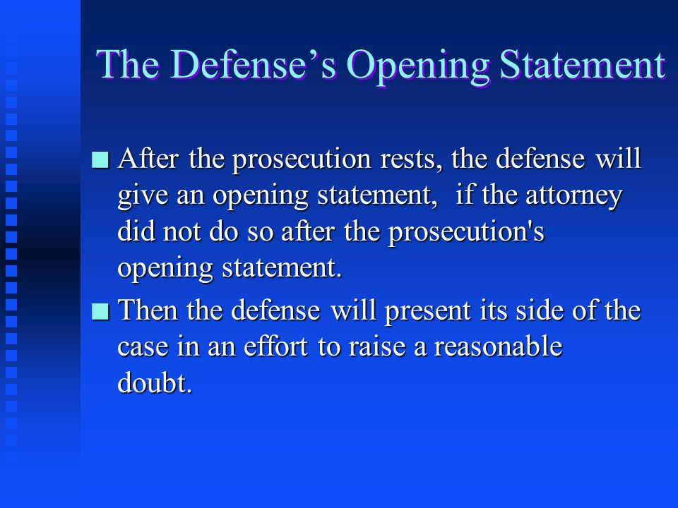 the trial process ppt video online download