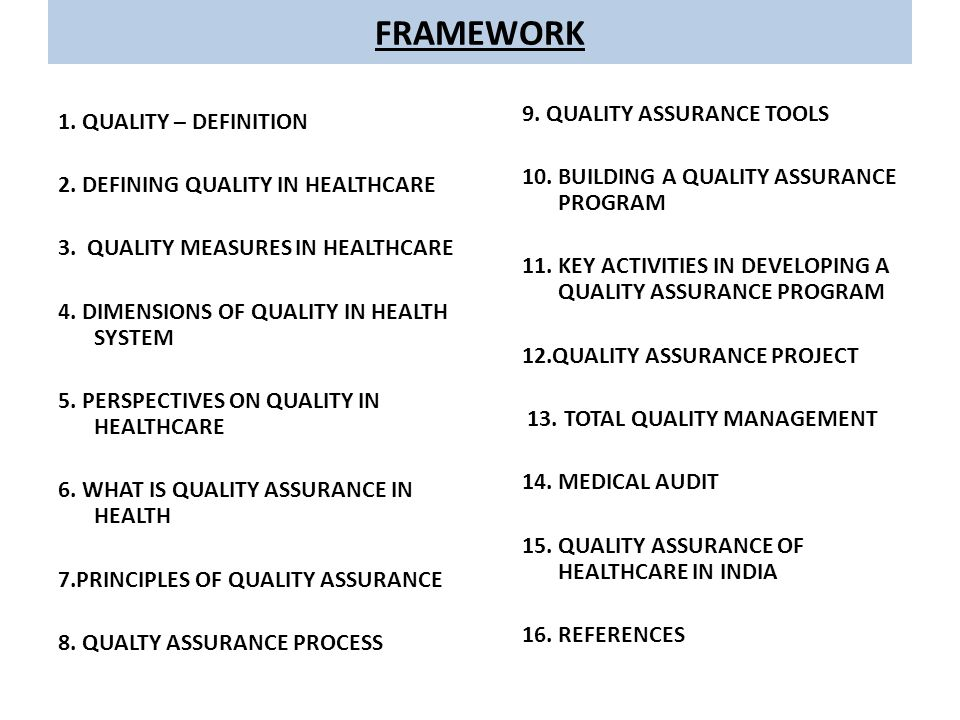 total quality management in healthcare environment Chapter 44 tools and strategies for quality improvement and patient safety  the father of total quality management (tqm), promoted constancy of purpose and.