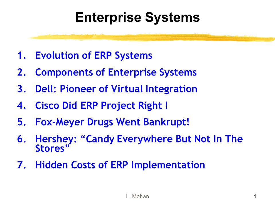 evolution of erp systems Evolution of erp systemsa historical perspectivepithirath p5310189.