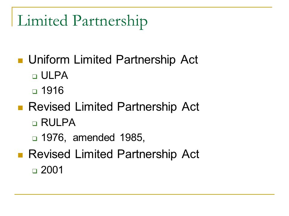 partnership law The pros and cons of partnership – an overview partnership typically provides direct participation in the success and profits of the business, involvement (to one extent.