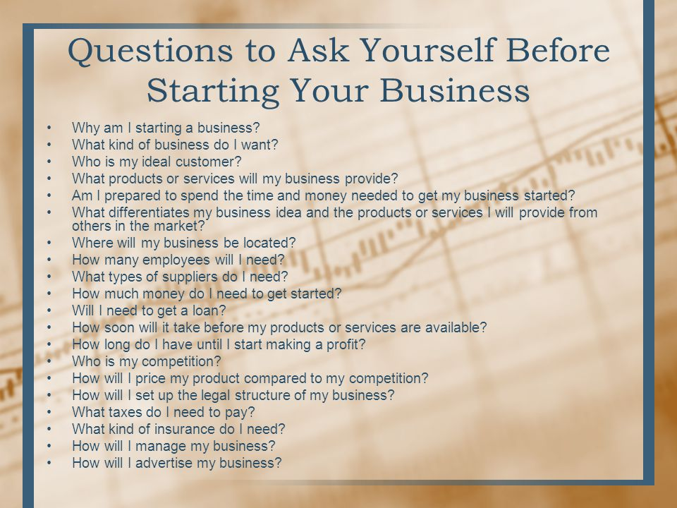 How To Start A Business And Write A Business Plan