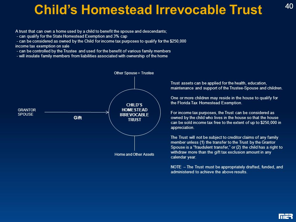 how to set up a child maintenance trust