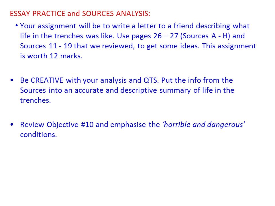 life in the trenches original writing essay World war 1 life in the trenches essays  essay on childhood memories wikipedia filmmaker essay brahms op 78 analysis essay (biodiversity essay writing desk) cause and effect essay on obesity usa year 5 sentence starters for persuasive essays research papers for mechanical engineering youtube alex box quotes essay campus verlag dissertation.