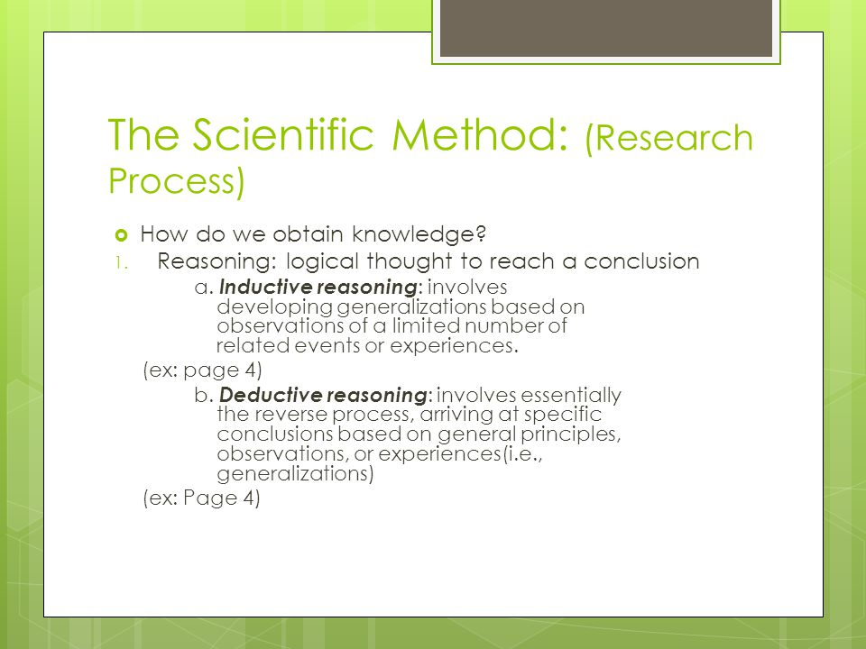 Educational research and the scientific method