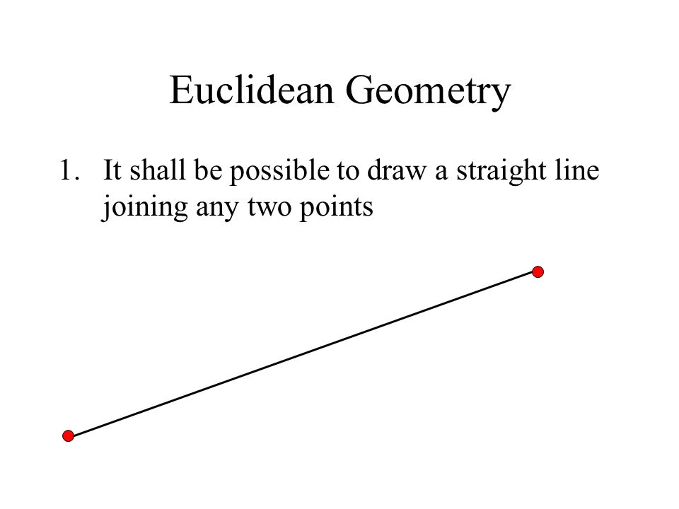 Drawing Straight Lines With Procreate : Non euclidean geometry and consistency ppt video online