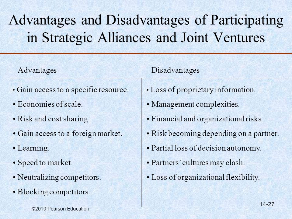 advantages and disadvantages of separatism
