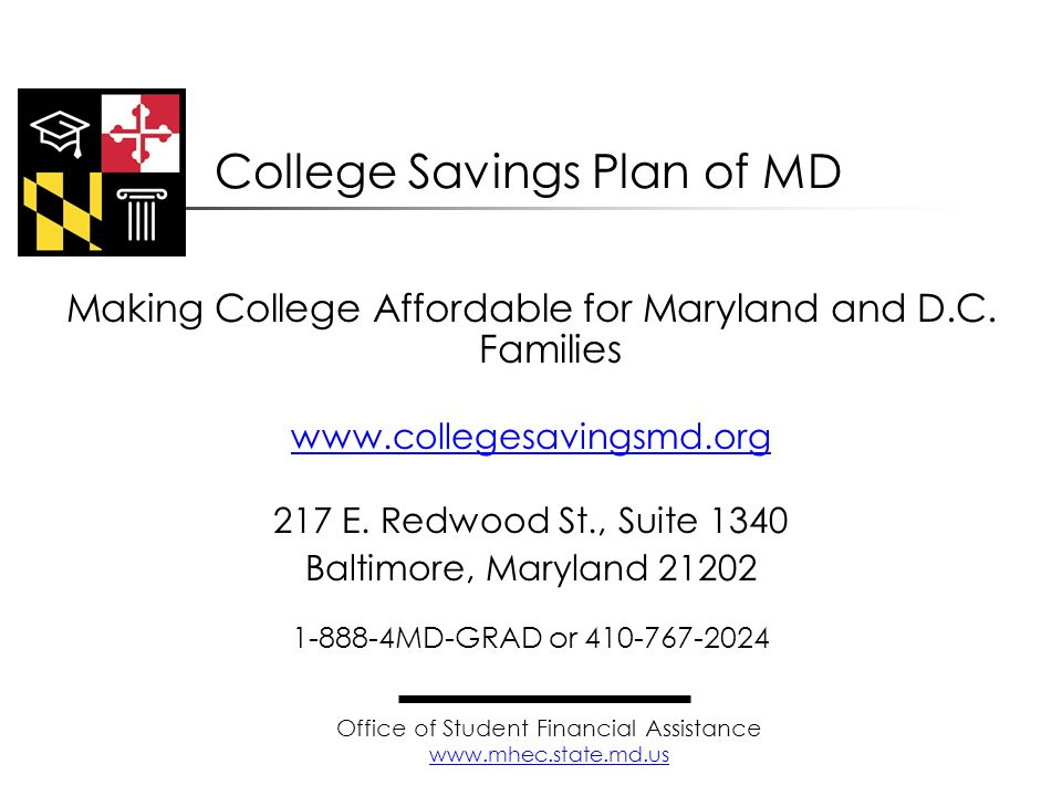 College Savings Plan of MD