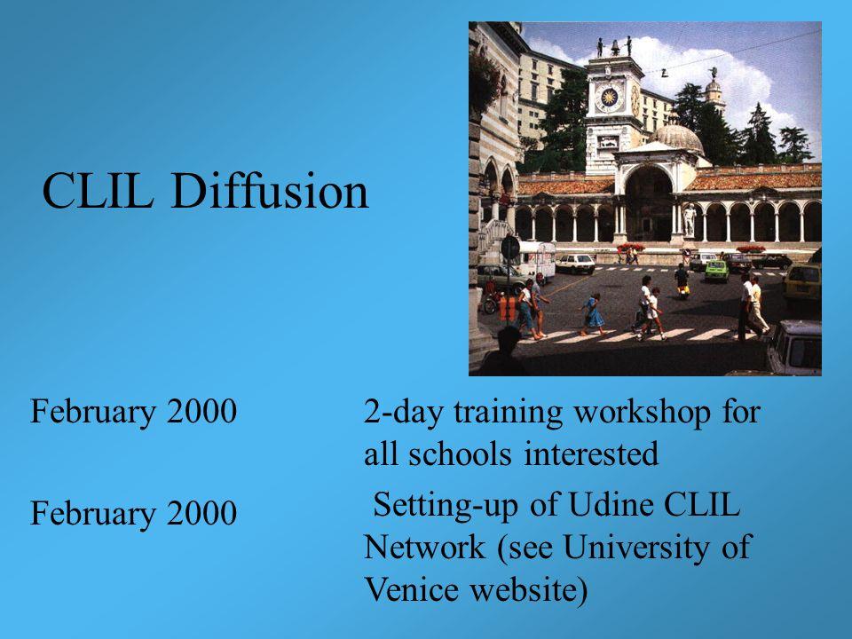 CLIL Diffusion February 2000