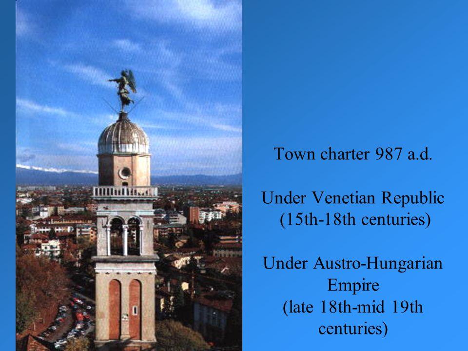 Town charter 987 a.d.