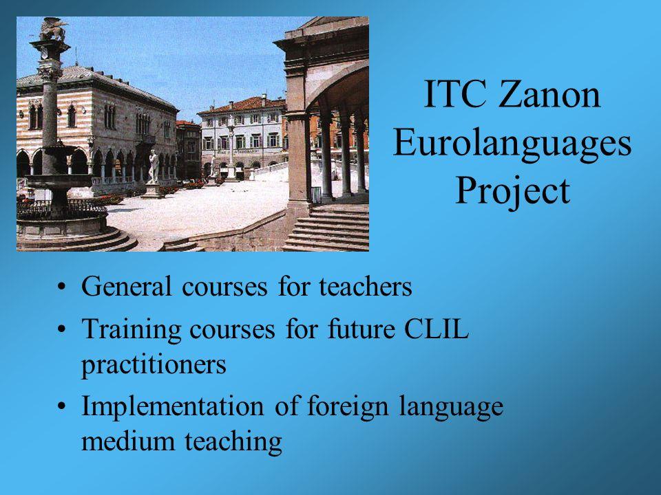 ITC Zanon Eurolanguages Project