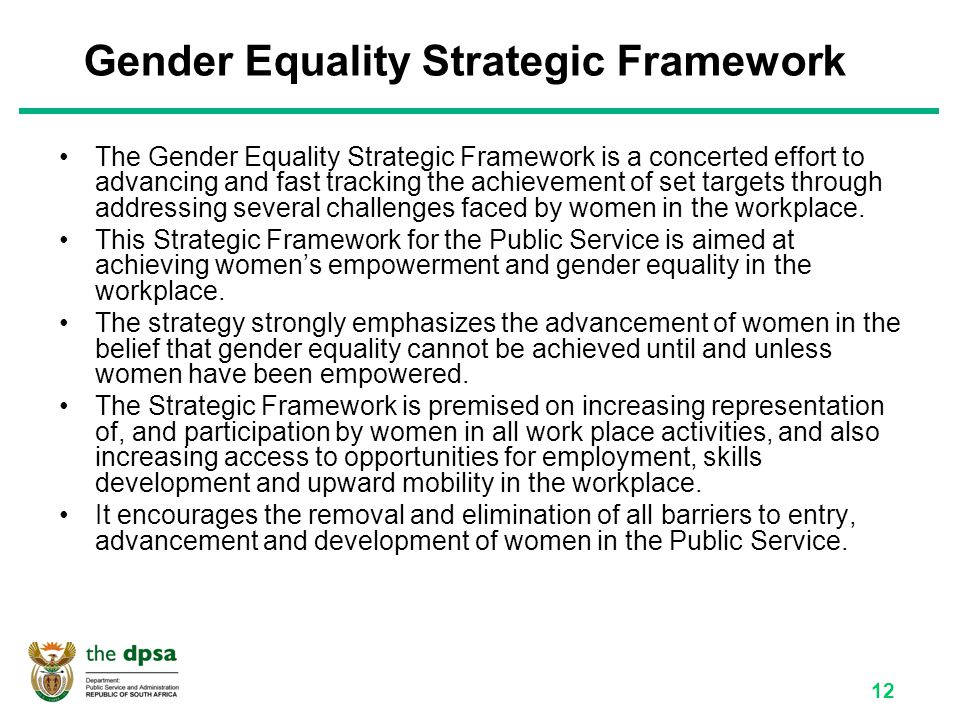 has gender equality been achieved in An analysis of the 2014 budget shows that there has been little effort on the part of the state to promote gender equality in zimbabwe the ministry of genderis the ministry mandated with promoting gender equality, empowering women economically and ending all forms of discrimination and gender-based violence.
