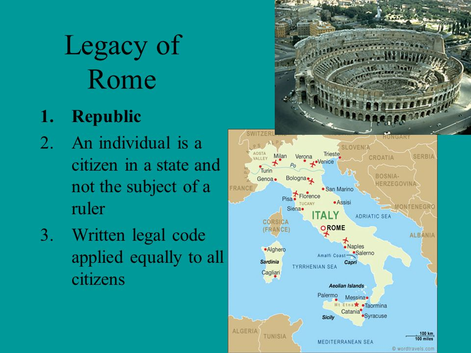 Legacy of Rome Republic