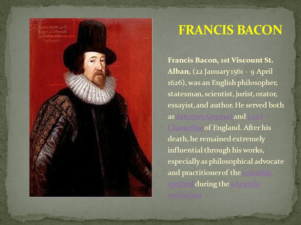 essay by francis bacon