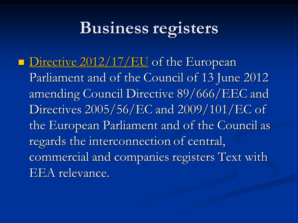 council regulation eec no 2137 85 of En `is article 5(a) of council regulation (eec) no 2137/85 of 25 july 1985 on the european economic interest grouping to be interpreted as meaning that, apart from.