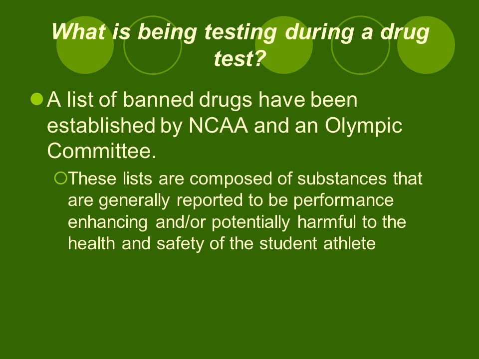 the issue of drug testing in athletics Free drug testing papers, essays, and research papers my account search results free essays the issue of drug testing in athletics seems to be the most.