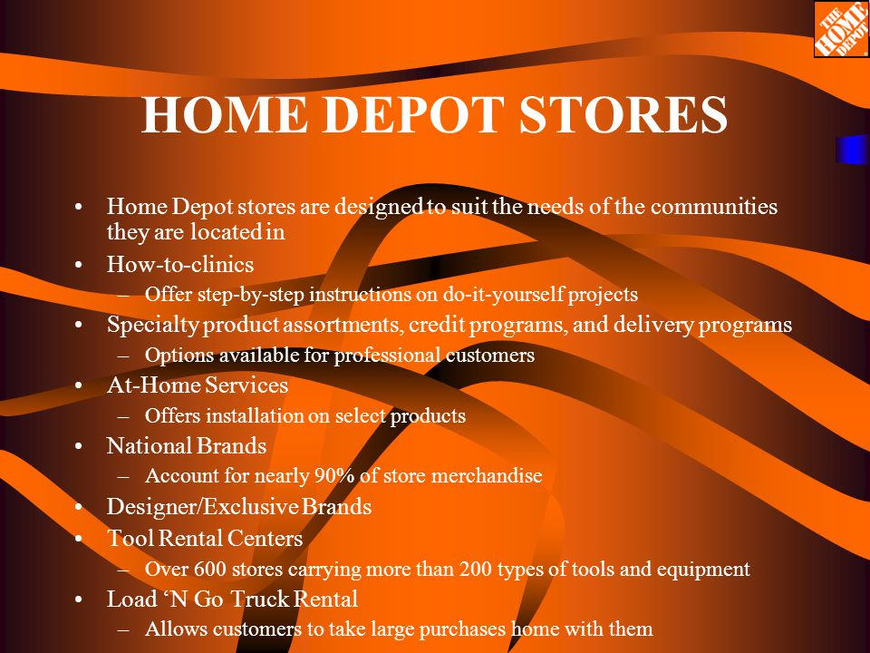 An analysis of the home depot using strategic management ppt download 17 home solutioingenieria Gallery