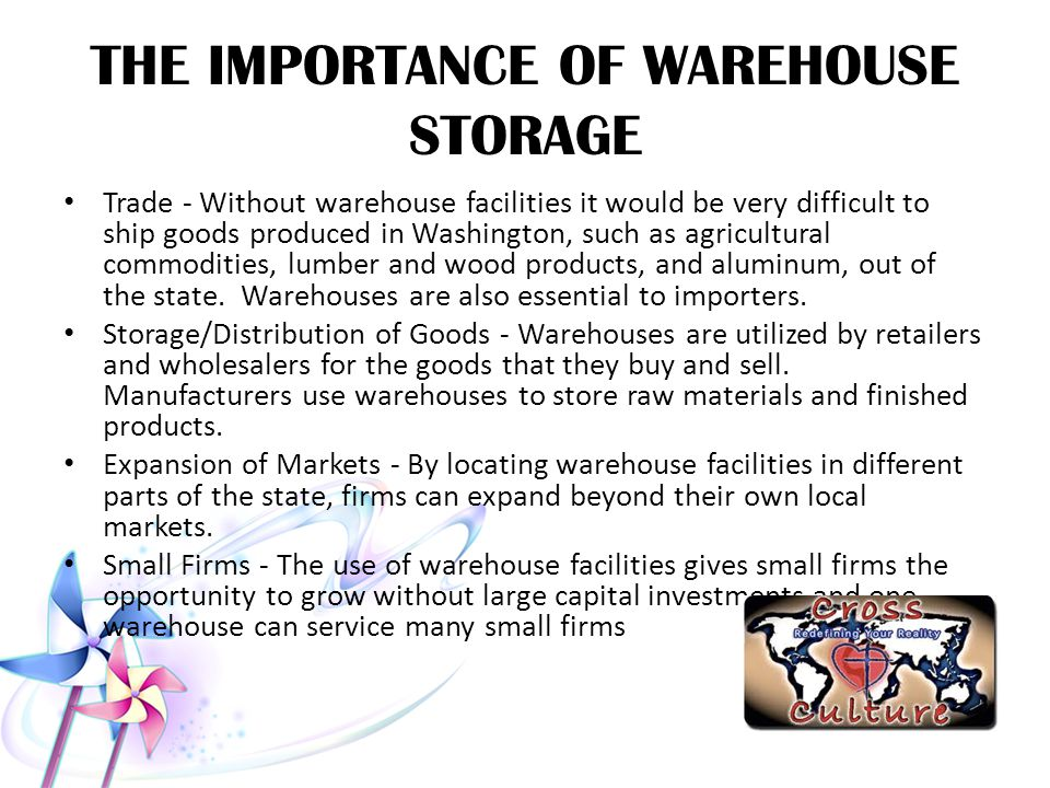 THE IMPORTANCE OF WAREHOUSE STORAGE