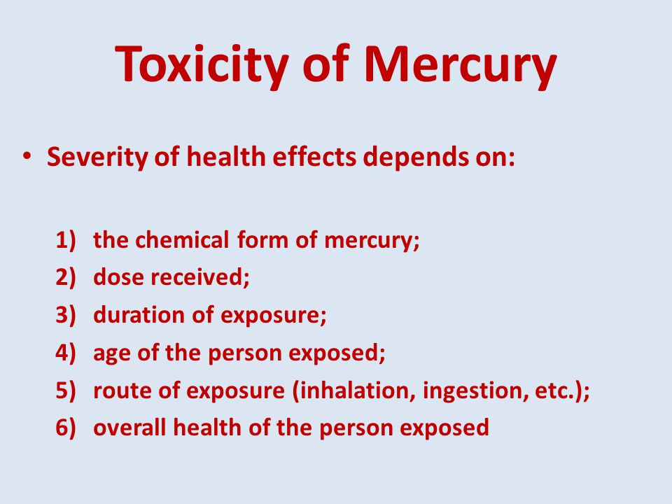a study of the effects of mercury and arsenic toxicity The purpose of the present study was to find out the sources of mercury and arsenic pollution of water in the industrial area of peshawar, the capital of khyber pakhtunkhwa, pakistan.