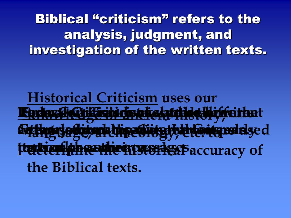 redaction criticism and textual criticism This introduction to new testament exegesis helps readers by explaining in a simple and brief way the basic literary methods used in studying the new testament today: textual criticism, translations, words and motifs, source criticism, form criticism, historical criticism, redaction criticism, and parallels.