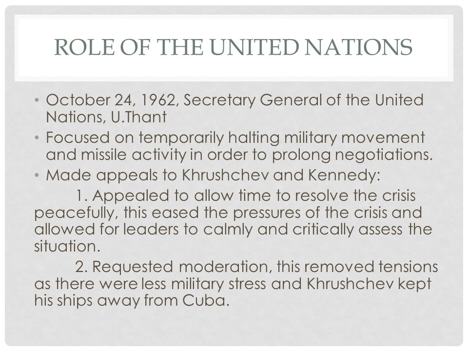 the role of united nations in The united nations is the forum where much of this debate is played out treaty norms are the most concrete, understandable and probably the most important international standards however, the efforts and accomplishments of.