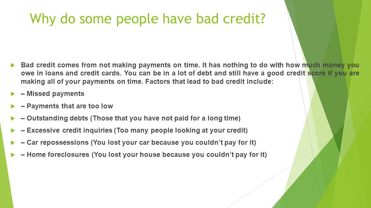the basics of building credit ppt download. Black Bedroom Furniture Sets. Home Design Ideas