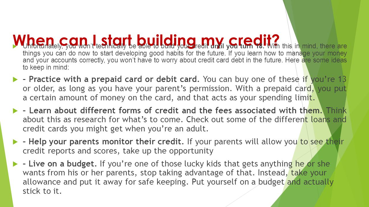 good credit card start with