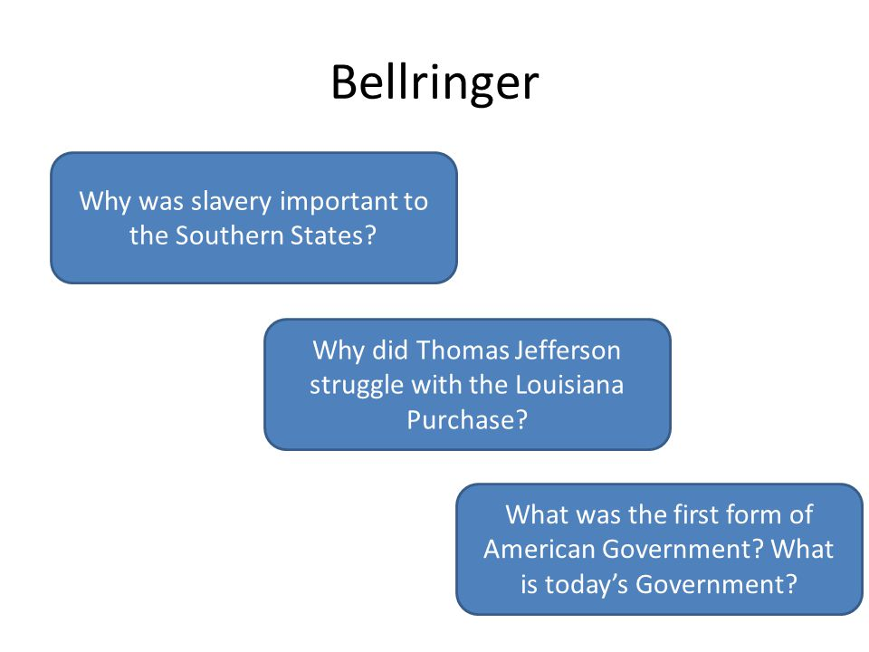 why slavery was important for america
