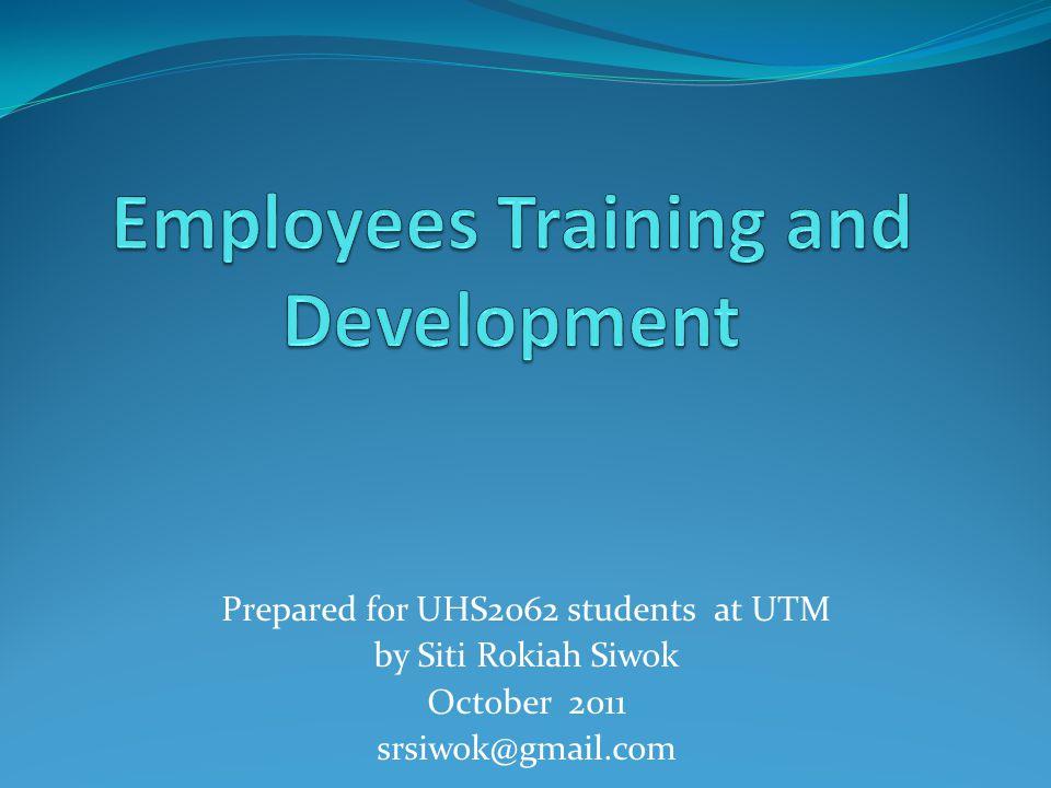 employee training and development 1