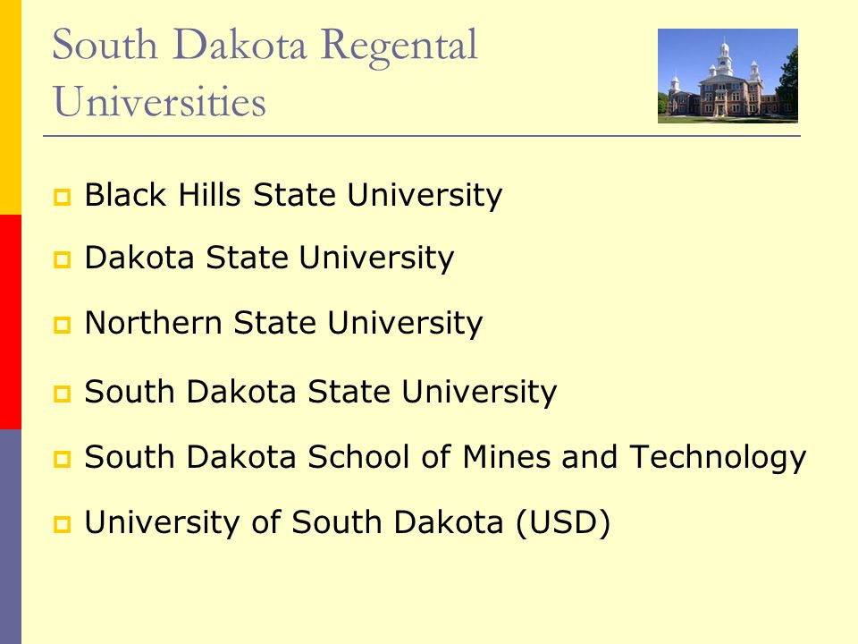 South Dakota Regental Universities