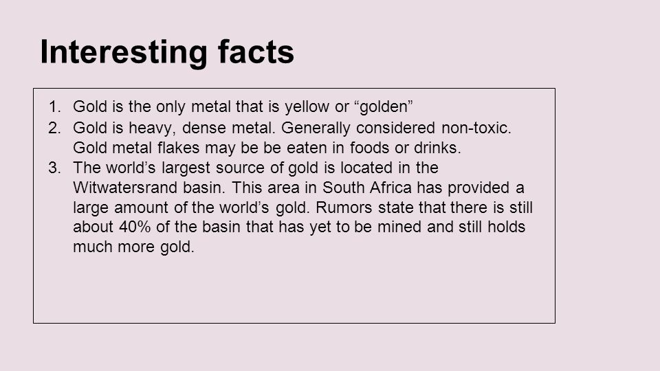 Element gold by simarjot randhawa jay sekhon faiza ahmed interesting facts gold is the only metal that is yellow or golden urtaz Images
