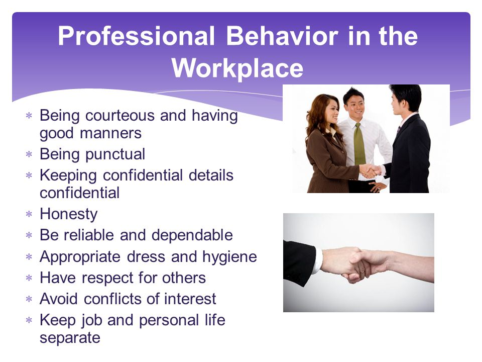 professional behavior workplace 10 signs of a positive workplace  a positive mission statement outlines the goals and demonstrative behavior that exemplify the highest  professional.
