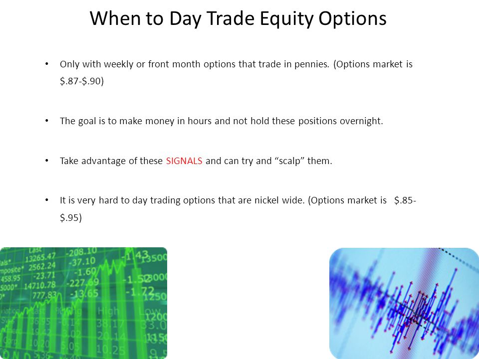What is an equity options trader