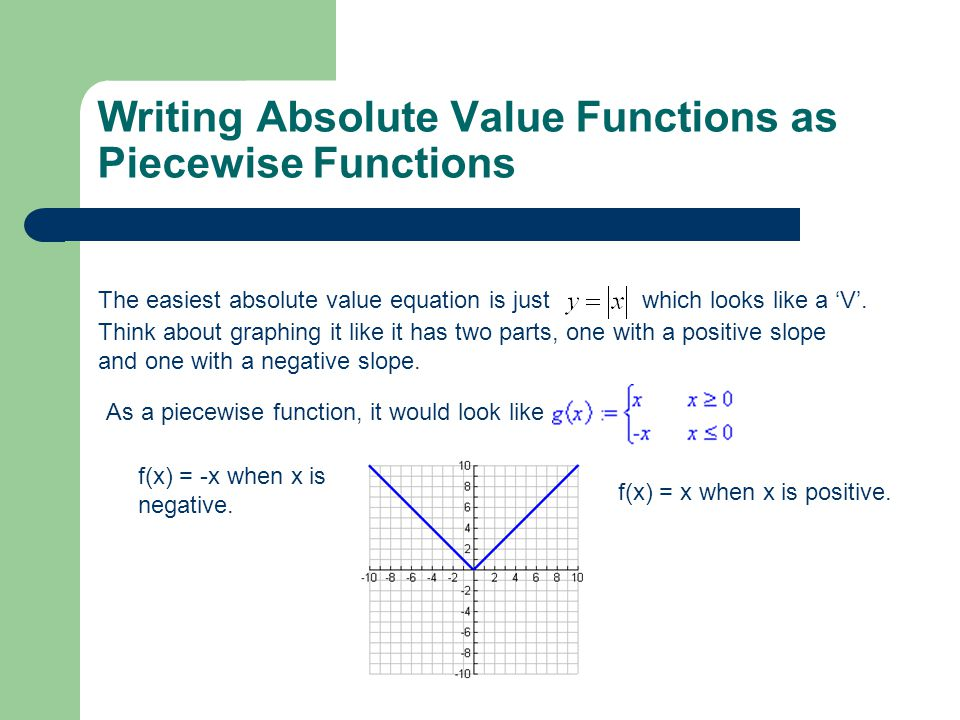 Warm up find f0 f2 f3 f4 ppt download writing absolute value functions as piecewise functions ccuart Image collections