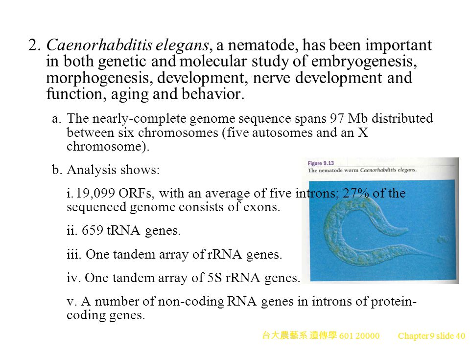 CHAPTER 9 Genome Analysis