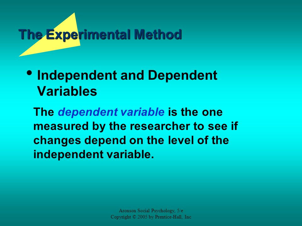 dependent and independent variables in research methodology pdf