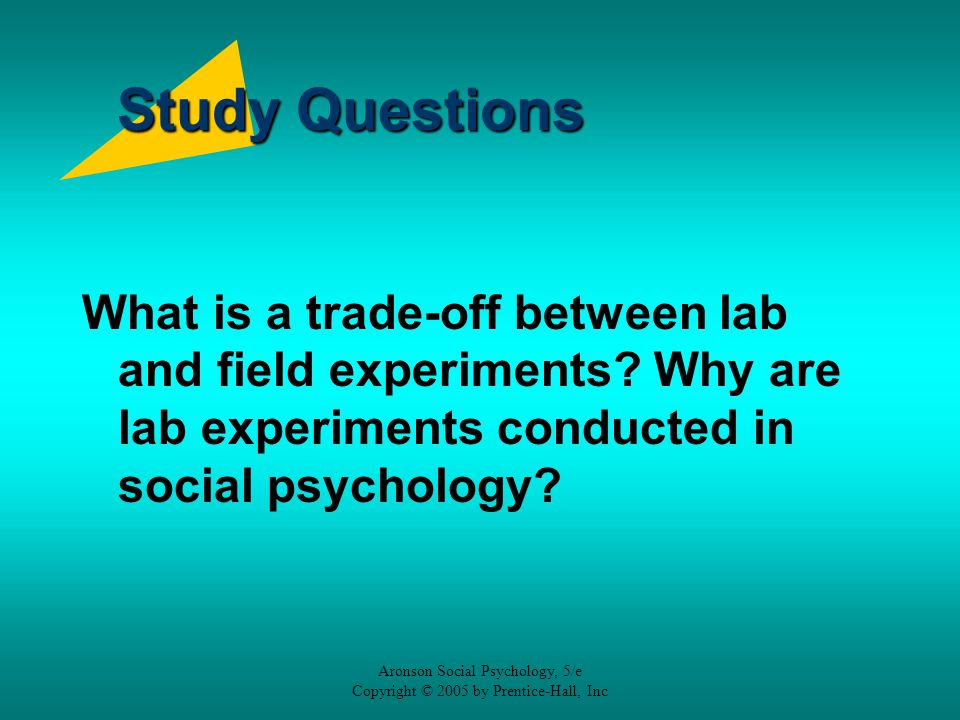 why psychologists do experiments Some of these interesting social psychology experiments offer surprising insights into how and why people do the things they do.