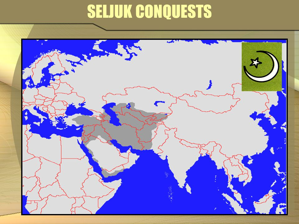 arab and seljuk conquests of the The seljuk turks were the first turks to settle in anatolia  controlling only their  piece of the disintegrating arab empire: recent converts to islam, they saw  themselves as the rightful heirs to the lands conquered during and immediately  after the.