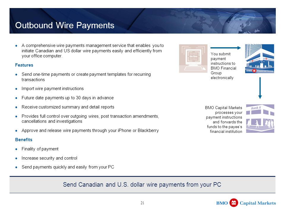 about bmo ppt download rh slideplayer com wiring money online wiring money between banks