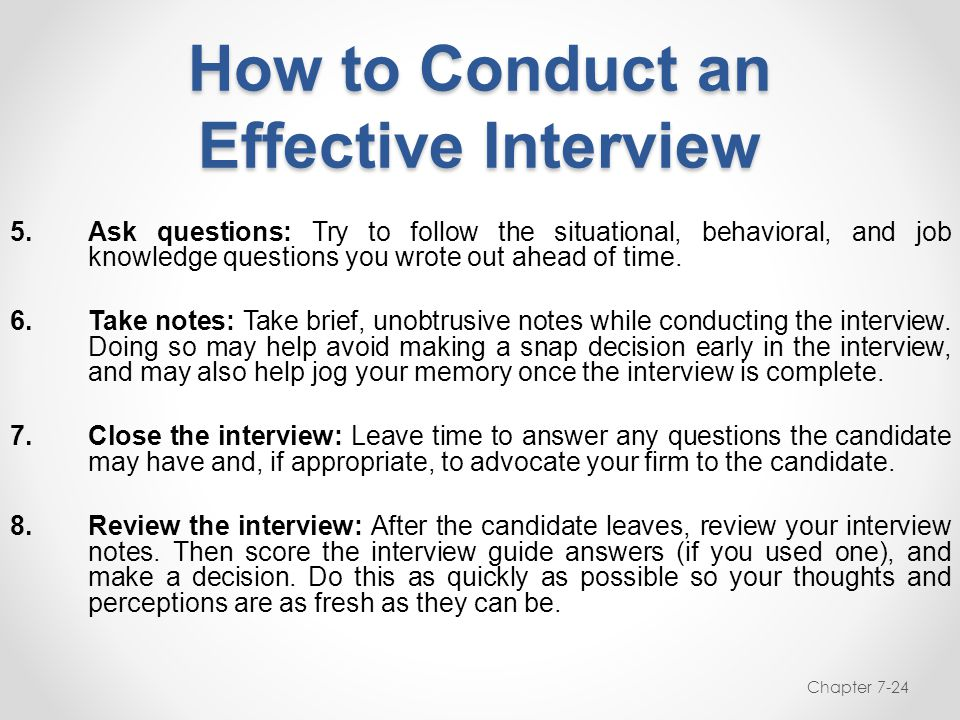 how to conduct a job interview A secretary holds a very powerful position in any organization when a person walks into your company for the first time, the first person he would likely see is your secretary or receptionist and the way he is treated by them would go a long way in forming an impression of your company on the visitors mind.