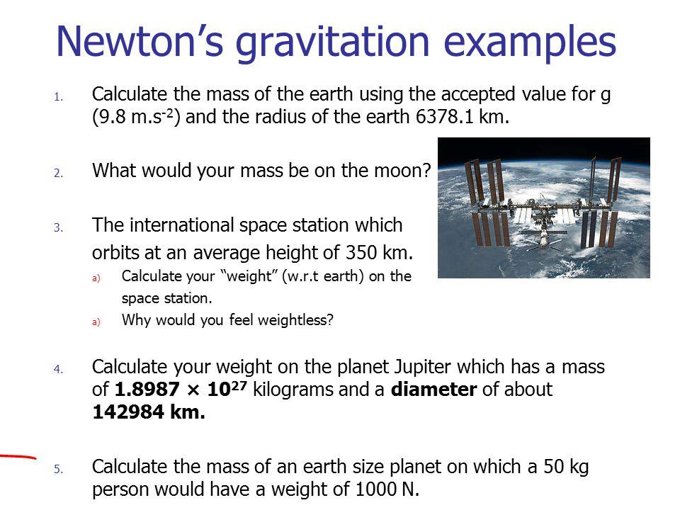 newton u0026 39 s universal law of gravitation