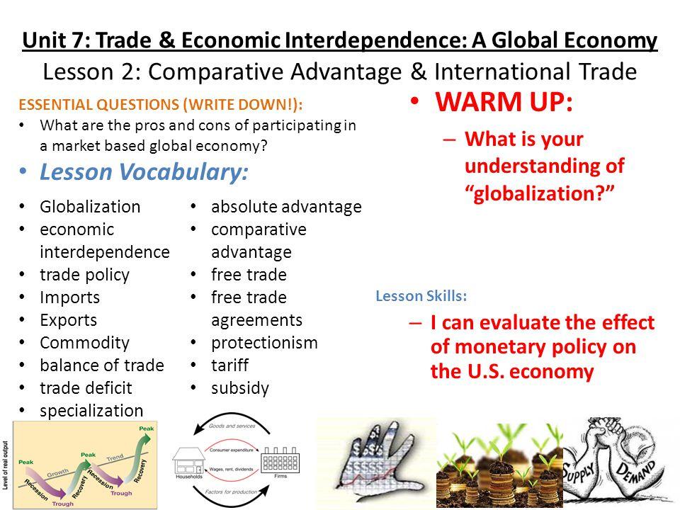 economics and comparative advantage