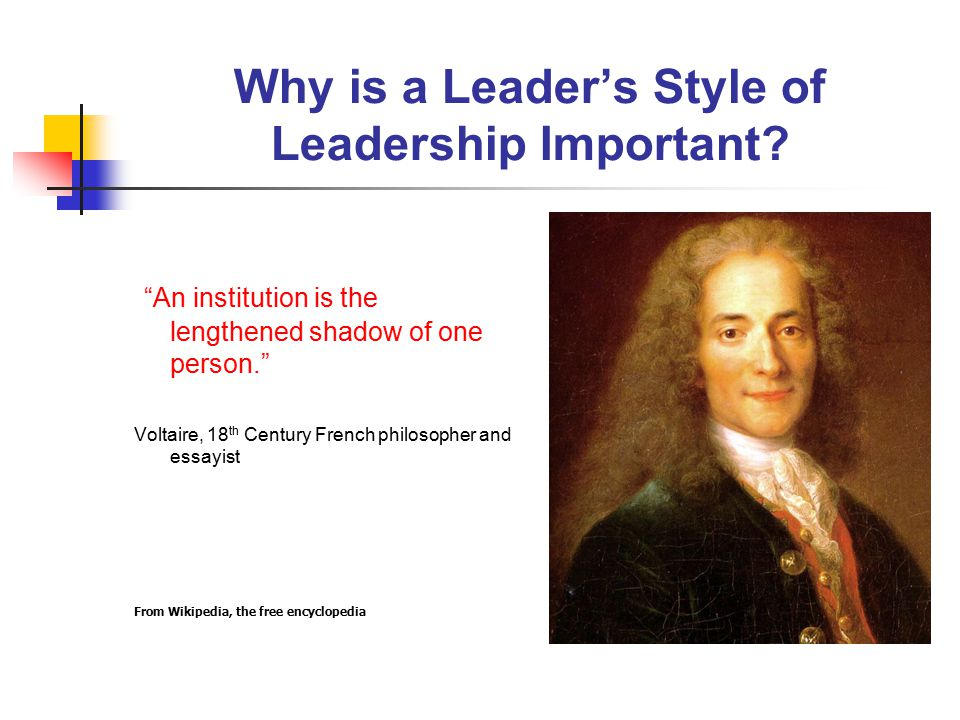why is leadership style important Knowing the characteristics of each leadership style is important so that you can  identify your own leadership style as well as those of others, and develop the.