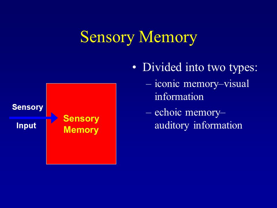 Three Stages of Memory. - ppt video online download