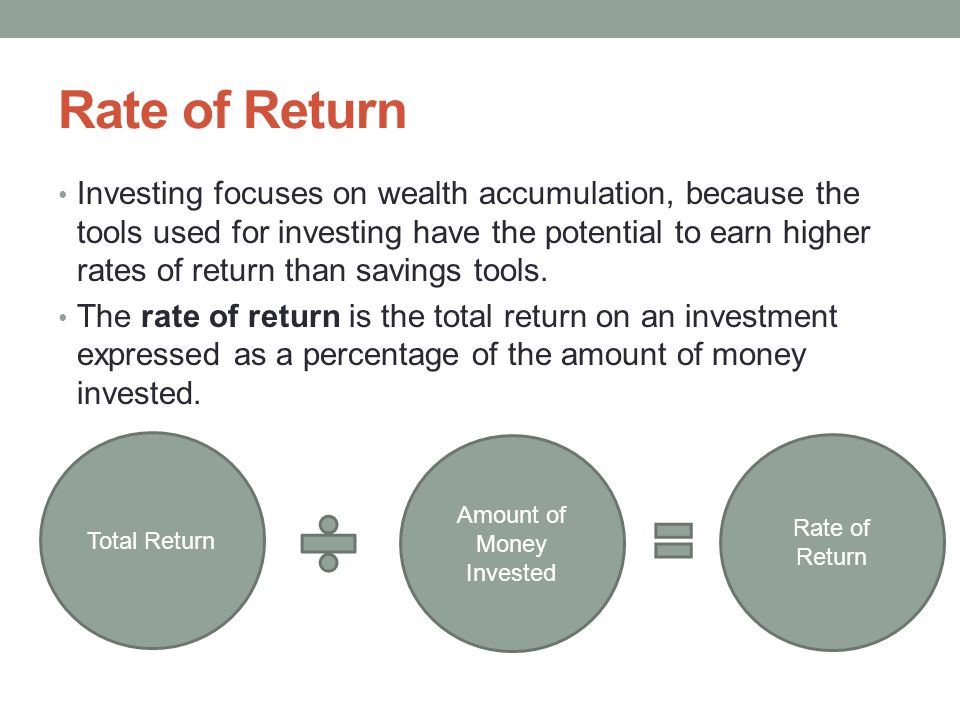 an introduction to return of investment in business From the course by indian school of business  return investment analysis  should begin by considering these relationships and then proceed.