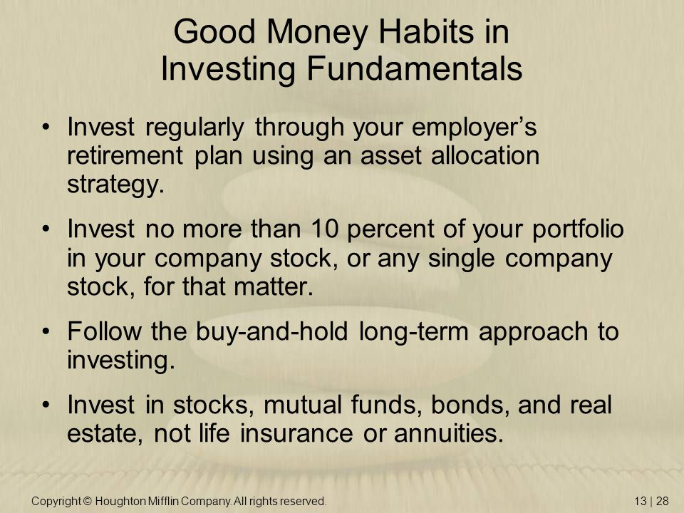 ten commandments to follow in mutual fund investing The ten commandments of investing - use these rules to guide you on the road to financial freedom - nasdaqcom  mutual funds financial advisor center  here are 10 commandments for the.